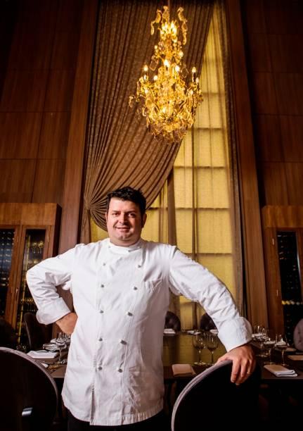 O chef francês Pascal Valero