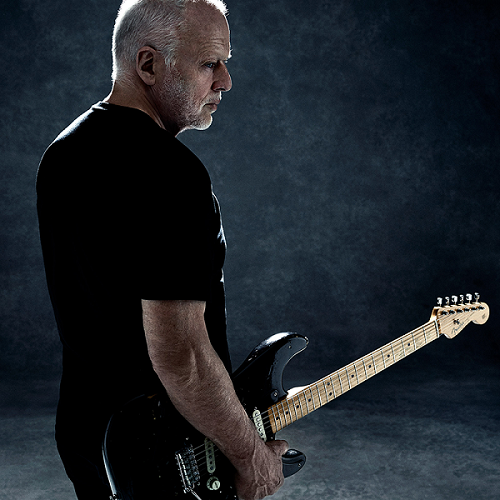 O guitarrista David Gilmour