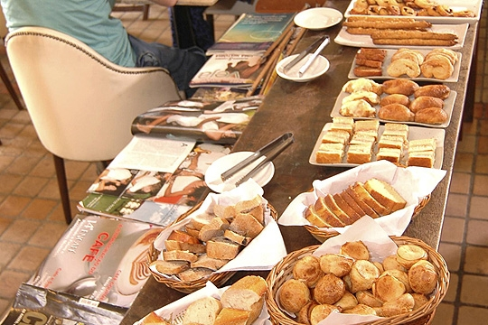 DeliParis é mistura de café e boulangerie
