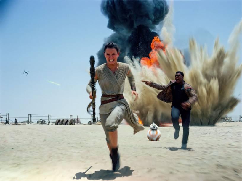 Star Wars - O Despertar da Força: Daisy Ridley e John Boyega