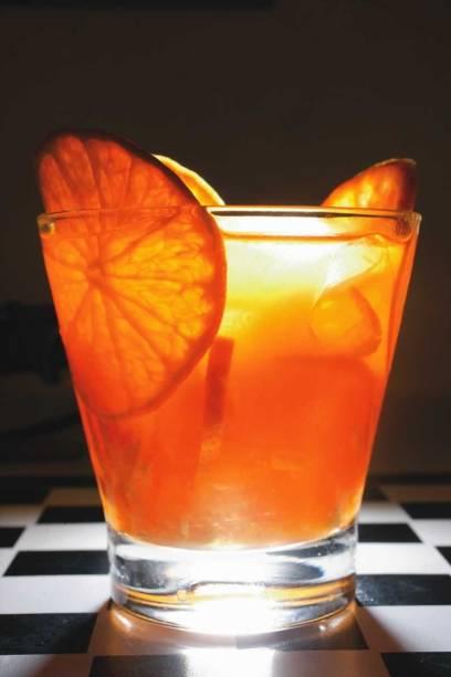 No cardápio do Desembargador: caipirosca de tangerina com gengibre