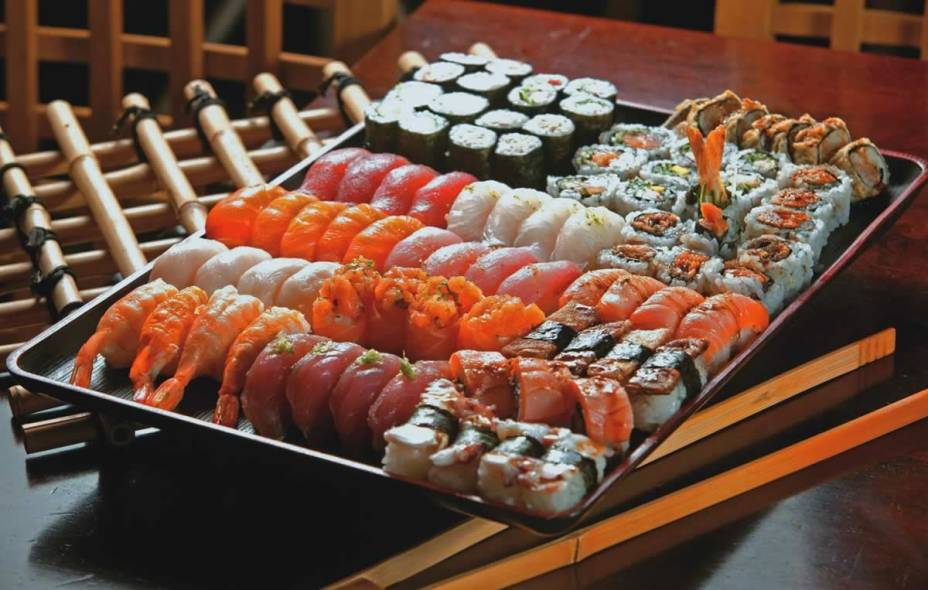 Dhaigo: boa variedade no rodízio de sushis e sashimis