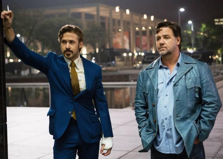 Dois Caras Legais: Gosling e Crowe tornam-se uma dupla de detetives contra todas as possibilidades