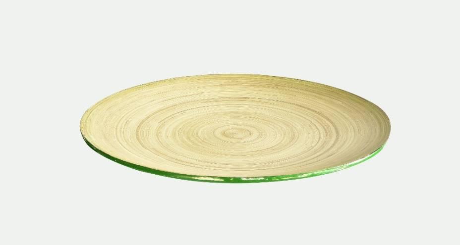 Centro de mesa em bambu