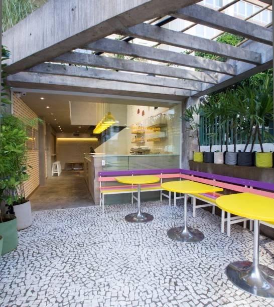 Primeira unidade da gelateria italiana aberta em São Paulo