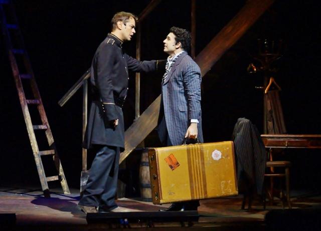 Marcello Antony e Jarbas Homem de Mello: os irmãos Chaplin no palco