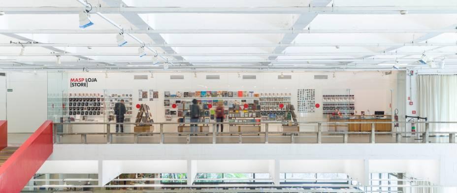 Nova livraria do Masp vende produtos da própria marca; os catálogos tem preço sugestivo de R$ 10 reais