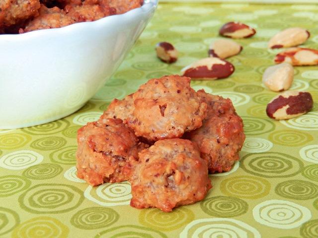 Os brutti: doces feitos de castanha-do-pará