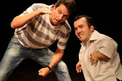 Peça 'É o que Temos para Hoje', com Marcelo Serrado e Gigante Léo