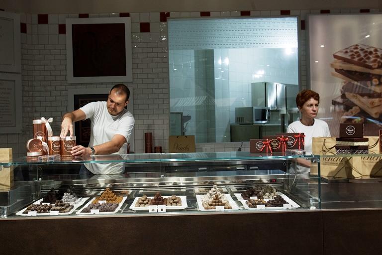 Chocolates: produzidos pela Venchi