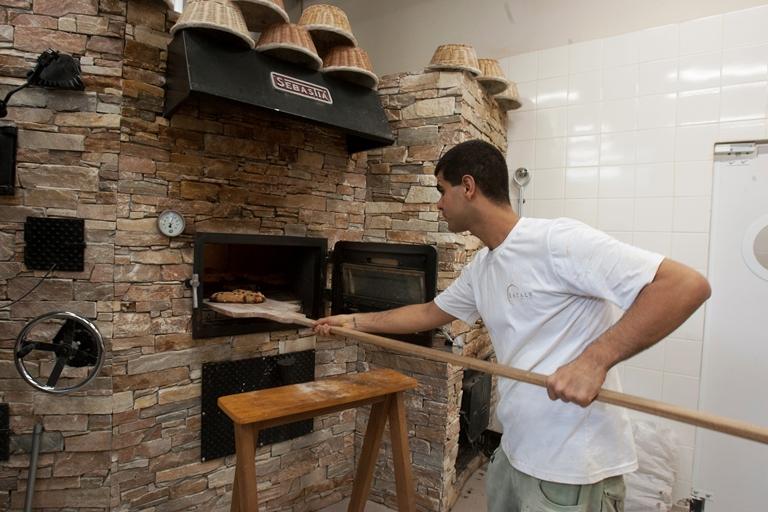 Padaria: forno espanhol de alto desempenho