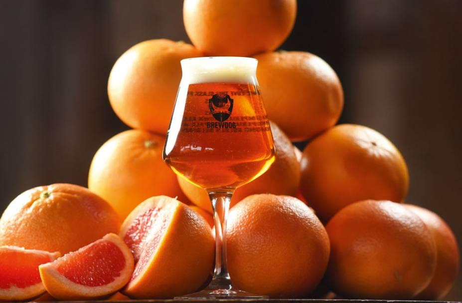 A Elvis Juice, feita com infusão de cascas de grapefruit