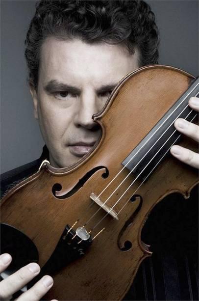 Violinista Emmanuele Baldini