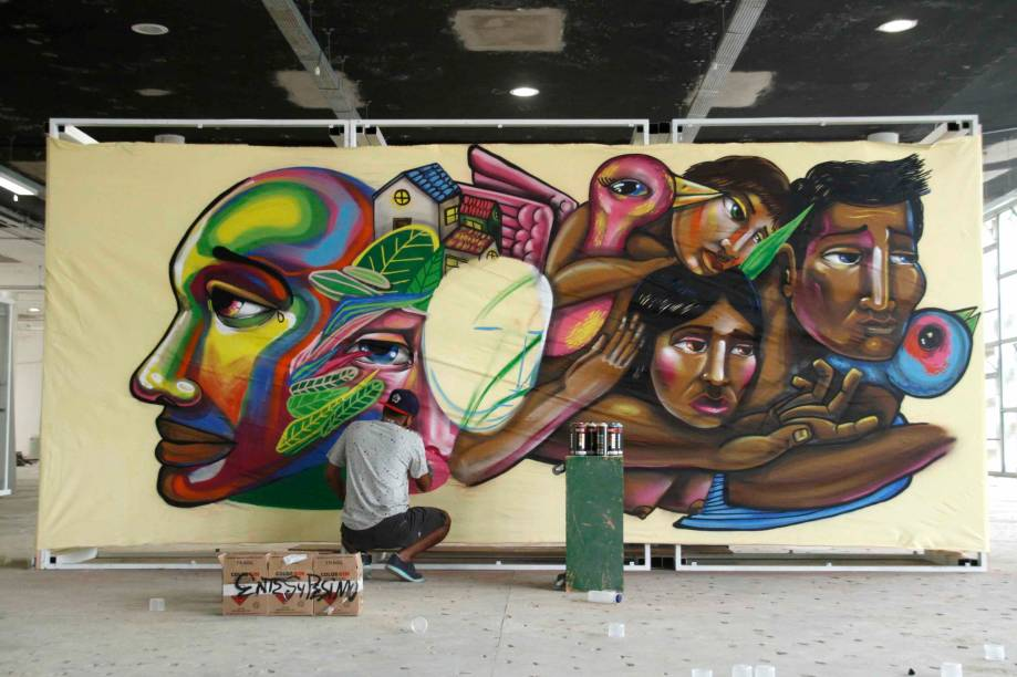 Artista peruano Entes