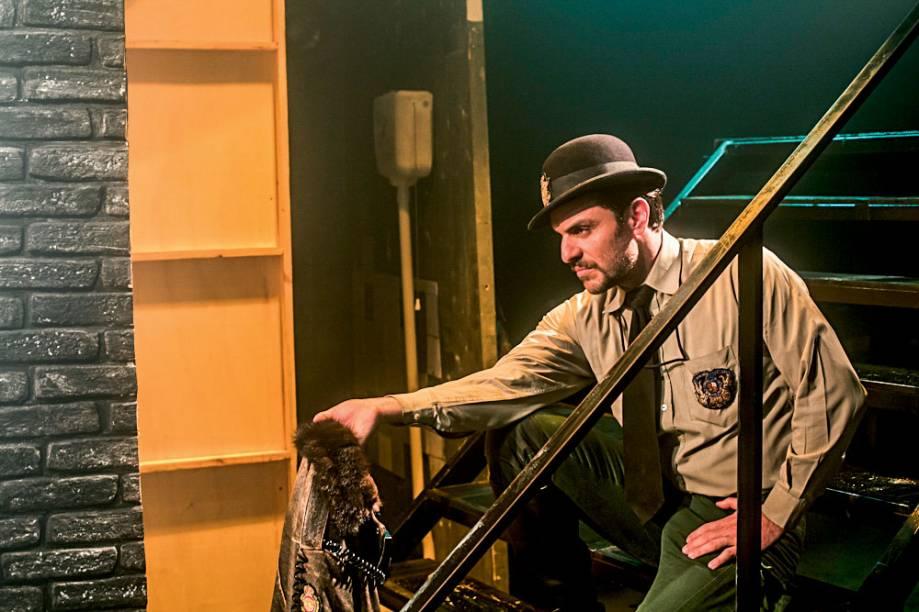 Urinal, o Musical: O ator Rodrigo Lombardi, que entrou no elenco em outubro