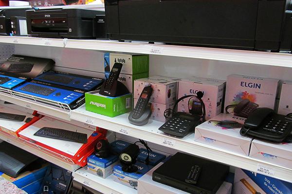 Equipamentos de informática e acessórios: produtos podem ser comprados pela internet e retirados na loja sem custo de frete