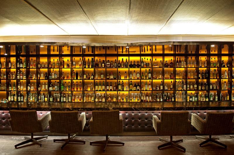 O bar do restaurante