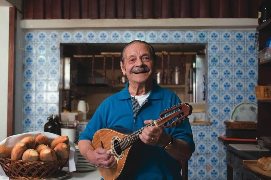 Angelo Luisi, dono do Capuano: restaurante é um dos mais antigos de São Paulo