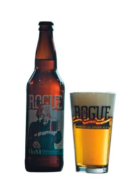 De estilo belga: a cerveja de trigo Rogue Mom, no Frangó