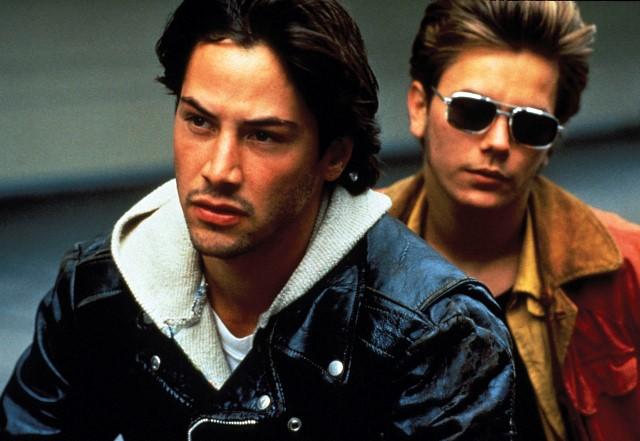'Garotos de Programa' com Keanu Reeves e River Phoenix
