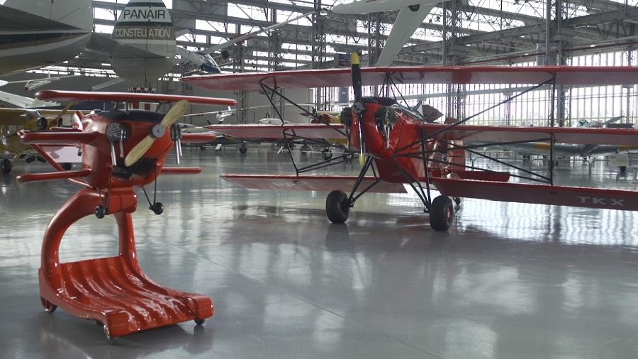 Flea Ship: primeira aeronave projetada por uma mulher