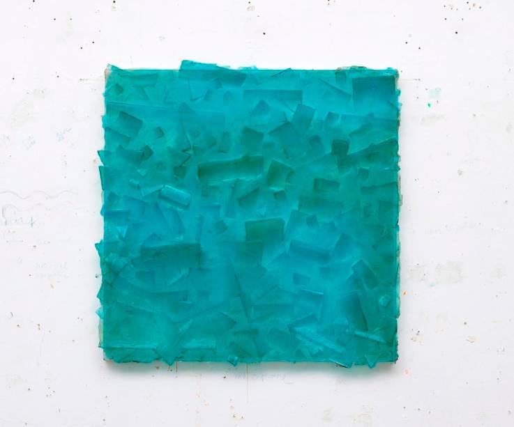 Resina é uma marca no trabalho de Dudi Maia Rosa