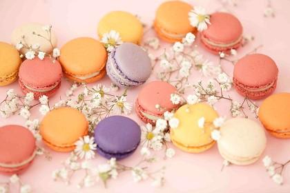 Os macarons do Folie:biscoitos franceses, feitos com farinha de amêndoa, são o carro-chefe da casa