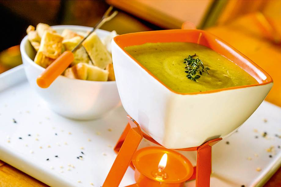 Le Manjue Organique: fondues vegana