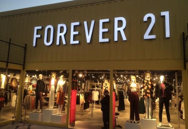 Forever 21: loja dentro do Outlet Premium