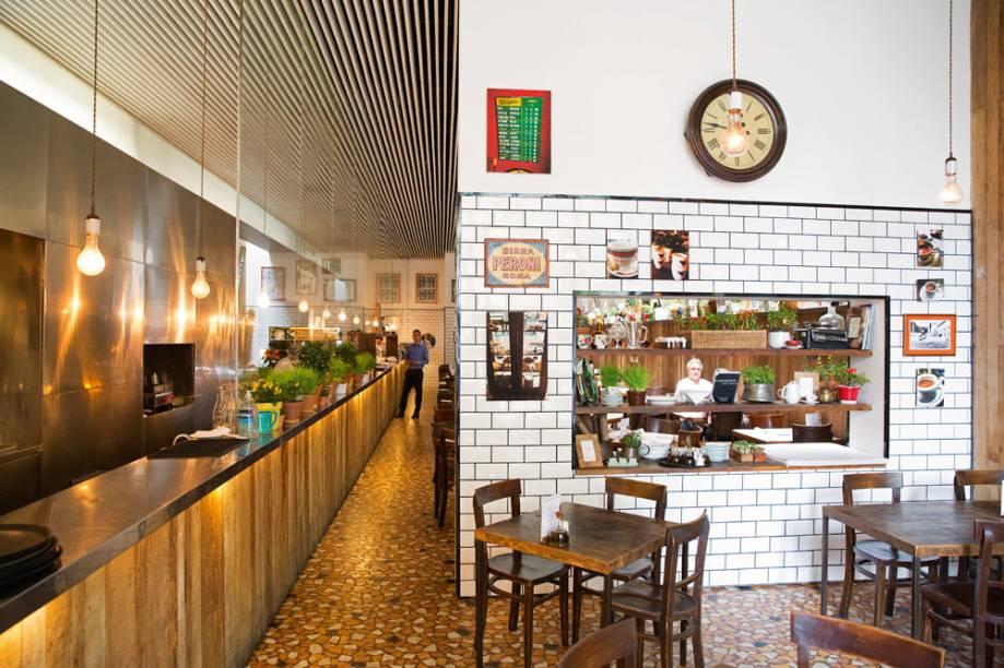 Forneria San Paolo: o salão passou por uma reforma