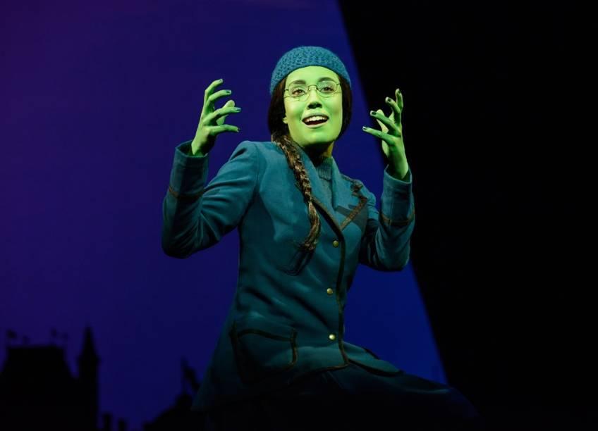 Wicked:Myra Ruiz interpreta Elphaba