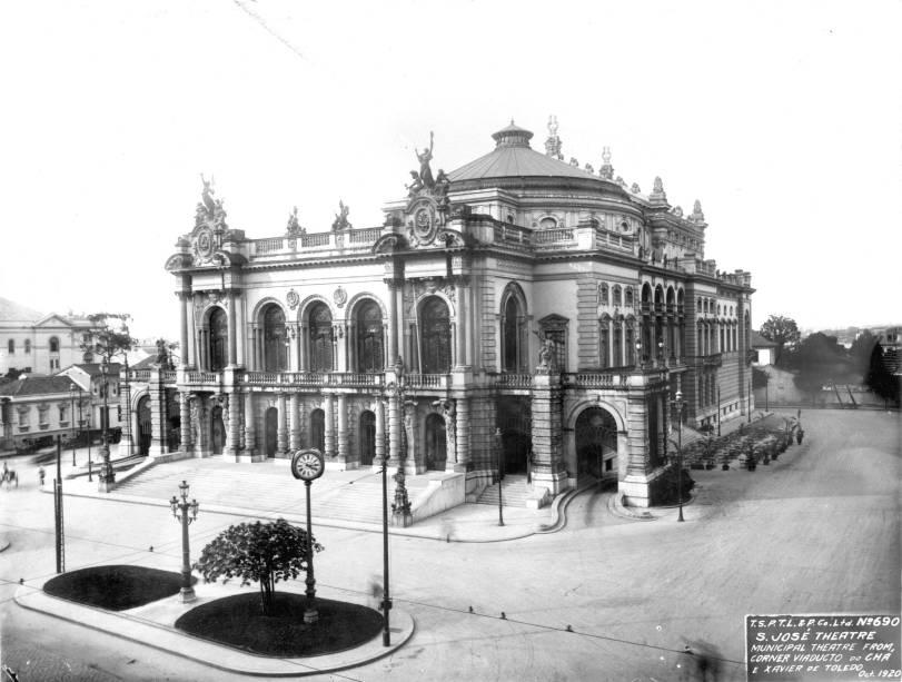 Teatro Municipal foi palco dos três dias de evento da grande semana na década de 20