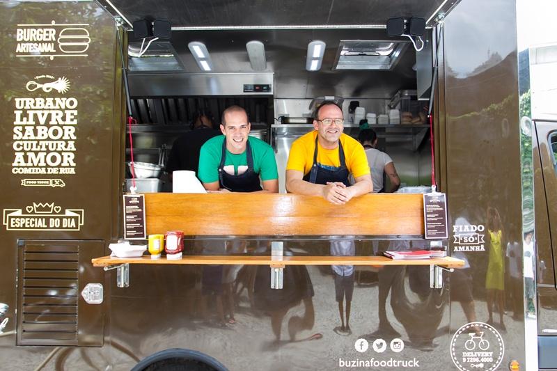 Buzina: os chefs Márcio Silva e Jorge Gonzalez