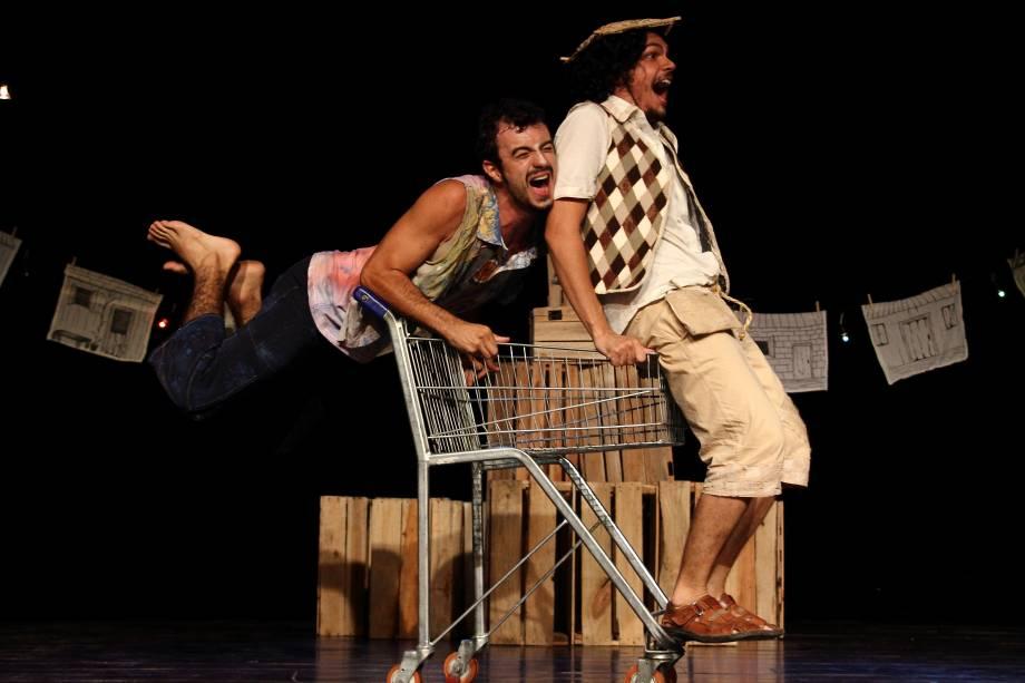 No espetáculo, o clássico conto dos irmãos Grimm ganha versão inspirada no universo nordestino