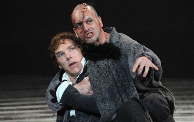 Frankenstein por Benedict Cumberbatch e Jonny Lee