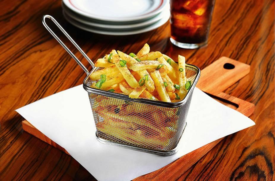 Batata frita com páprica
