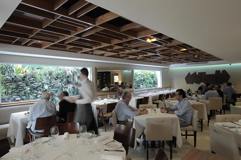 Picchi: instalado no térreo do Hotel Regent Park