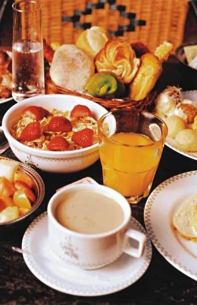 Na Galeria dos Pães: bufê de café da manhã