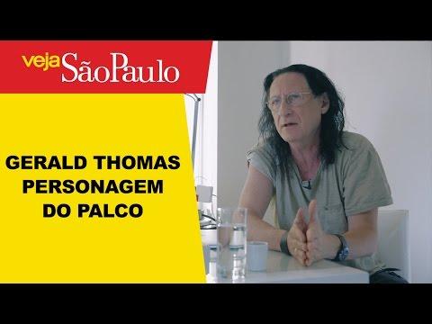 Gerald Thomas – Personagem do Palco
