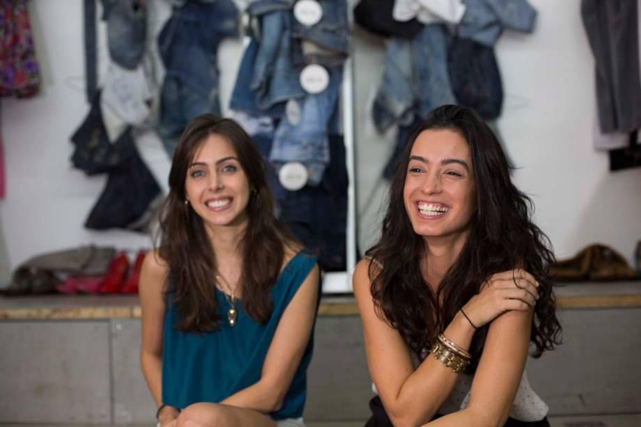 As amigas Giovanna Nader e Raquel Vitti Lino são as idealizadoras do projeto