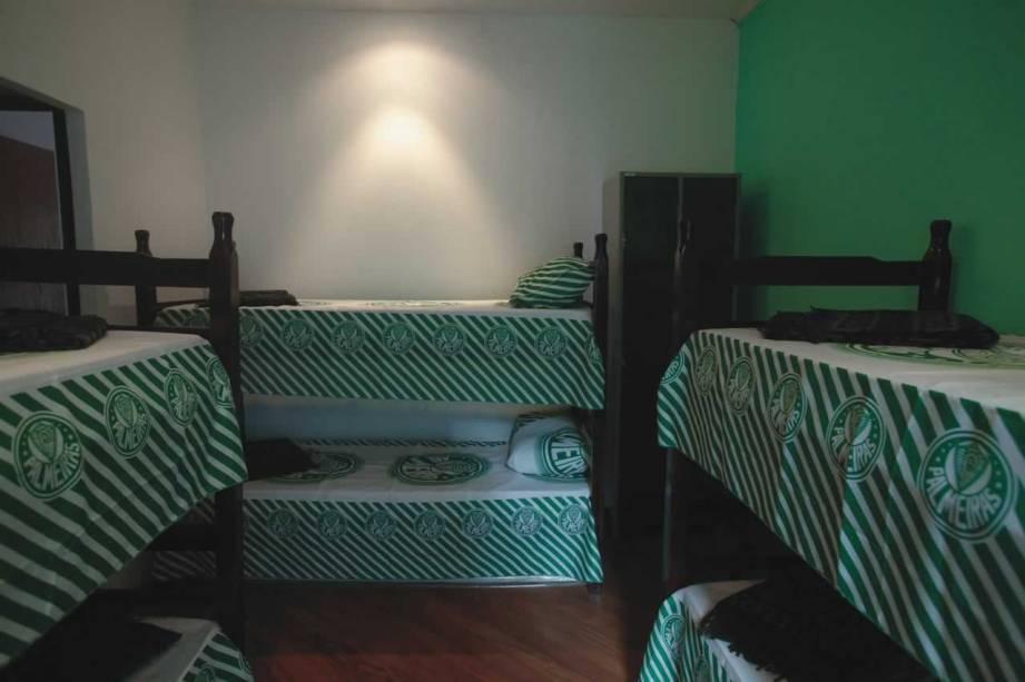 O quarto do Palmeiras: grandes clubes do estado são inspiração