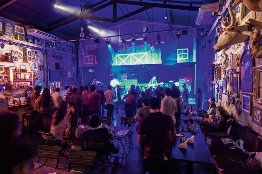 A nova casa de Facundo Guerra, no Largo da Batata: shows de quinta a domingo