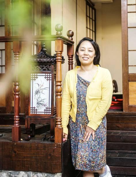 Helena Ha, mulher do proprietário Felipe Park, é a responsável pelas receitas