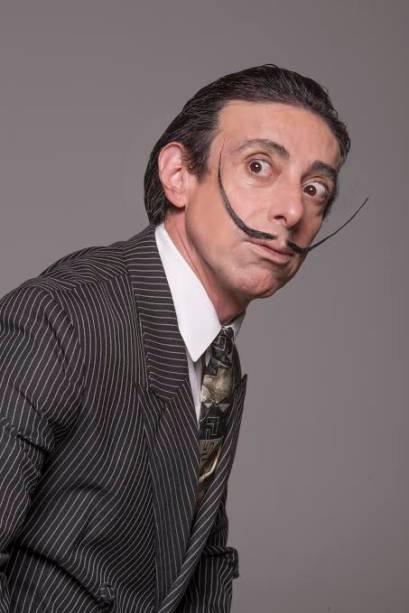 Cassio Scapin interpreta Salvador Dalí na comédia Histeria