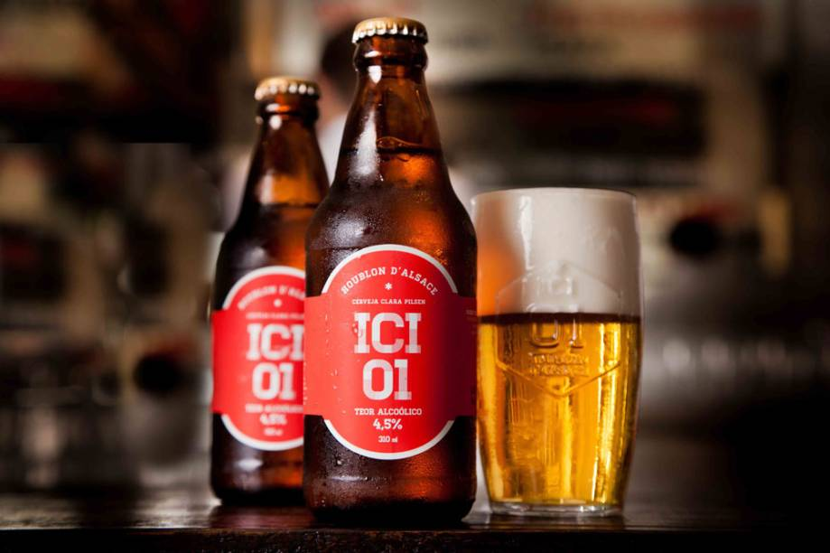Ici Brasserie: rótulo próprio de cerveja