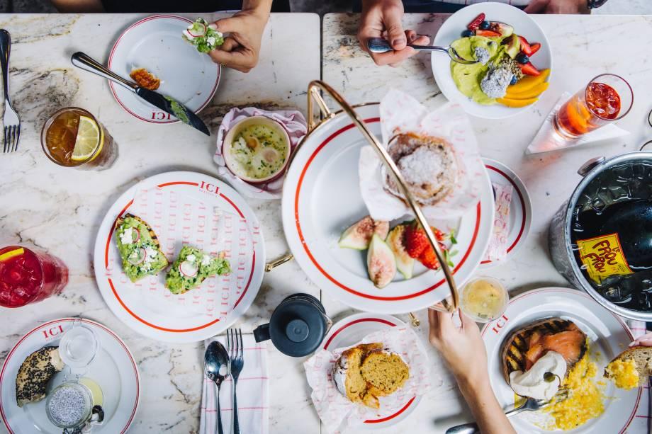 """Brunch ostentação: Ici Brasserie oferece """"tour de brunch"""", com diversas pedidas aos domingos, entre 10h e 14h"""