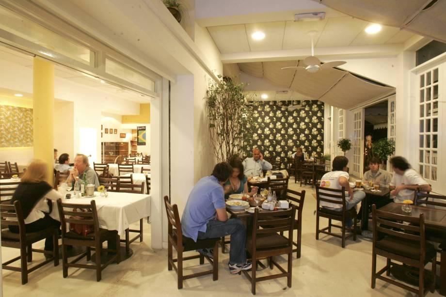 Bar e restaurante Ilha das Flores.