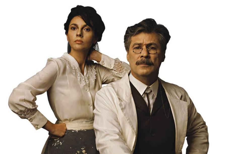 Melissa Vettore e Leopoldo Pacheco estrelam Camille e Rodin