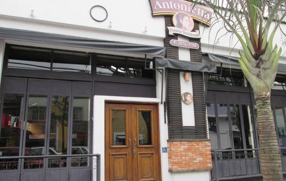 Pizzaria Antonietta: Rua Guaimbé n°354 - Mooca