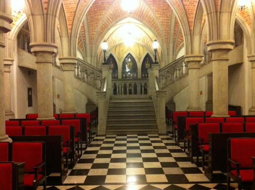 A Cripta da Sé recebe cerca de 100 turistas por semana